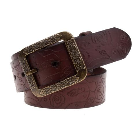 2015 vintage genuine leather belts for western