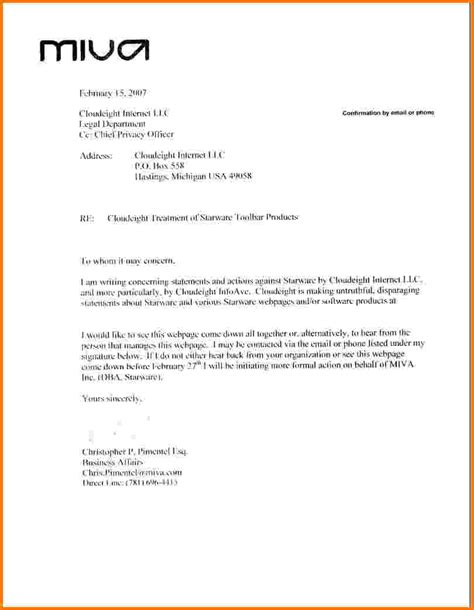 Financial Demand Letter 5 Formal Demand Letter Template Financial Statement Form