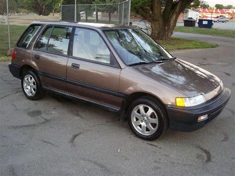 1990 honda civic hatchback value 1990 honda civic 4dr wagon
