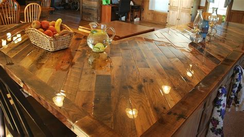 rustic bar top ideas ideas for the kitchen on pinterest