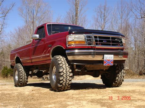 1994 ford f150 lifted 93 f150 lift leveling kit autos post