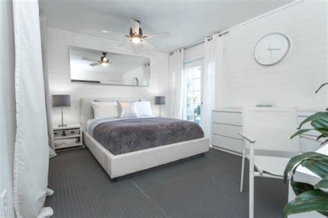 Bedroom Beige Schlafzimmer Gestaltung Kleiner Raum Wei 223 E Grauer
