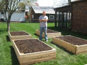 bp builds four raised garden beds thoughts from a