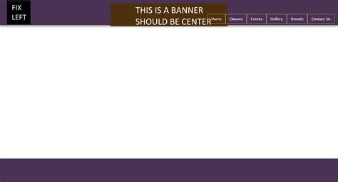css two column design header footer css html align 3 elements left right and center but