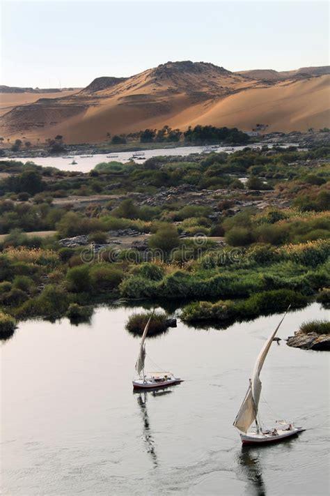 nile sailboats sailboats on nile river royalty free stock images image