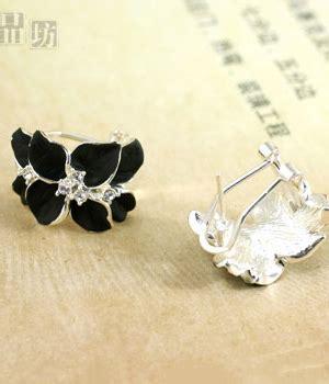 Black Gems Chocker Kalung Fashion Aksesoris Pesta Import Yc anting clip zircon jy58236 black tamochi