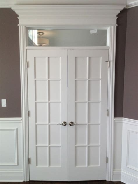 Interior Doors With Transom Windows Custom Interior Glass Door W Transom