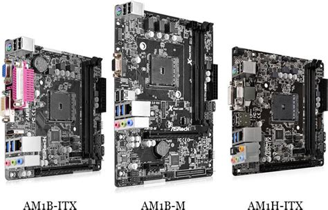 best itx motherboard 2014 asrock am1h itx am1b itx and am1b m am1 motherboards