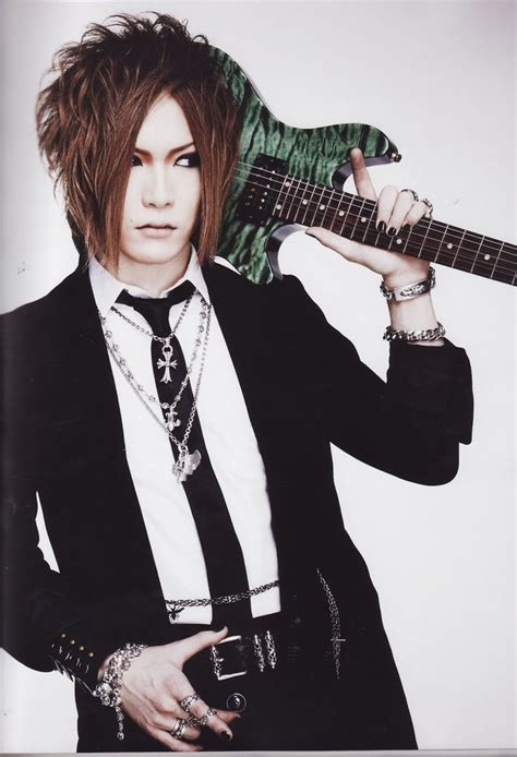 Handband The Gazette uruha guitarist from the visual kei band gazette j bands visual kei posts