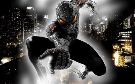 wallpaper hd android spiderman black spiderman android hd wallpaper hd wallpaper idea