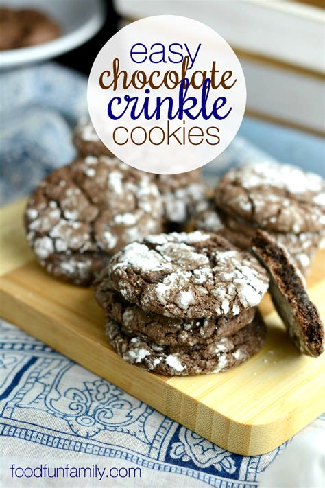 easy cookie recipes 103 best recipes for chocolate chip cookies cake mix creations bars and treats everyone will books easy chocolate crinkle cookies food family