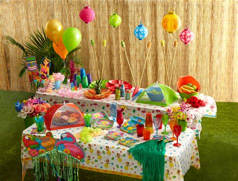 summer party decorations summer party supplies from dollar tree clever housewife