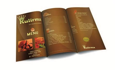 restaurant menu card design templates 21 free brochure templates psd ai eps