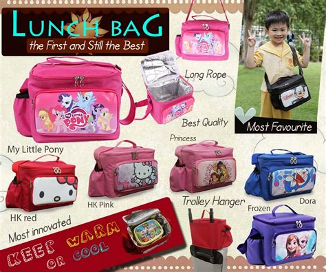 Jysk Kotak Makan With Cooler Blue jual lunch box bag karakter cars pooh hkitty minion