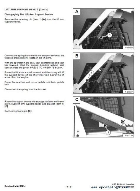 bobcat  skid steer loader service manual