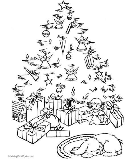printable christmas tree coloring sheets from the heart up christmas colouring pages and activity