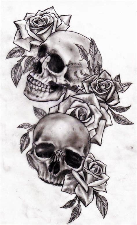 tattoo sleeve designs roses skulls shoulder skull designs best design