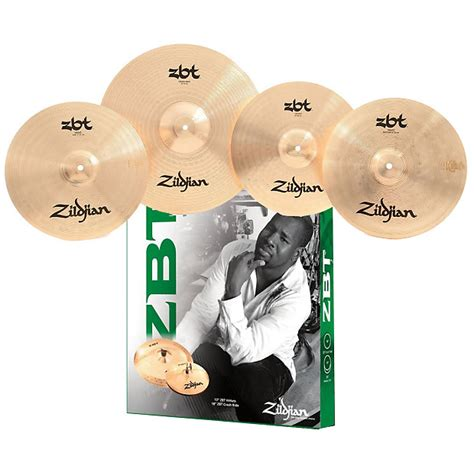 Cymbal Zildjian Starter Box Set Zbts3p 9 Uk 13 16 18 1 zildjian zbts3p 9 zbt cymbal starter package w 13 quot hihat 18 quot reverb