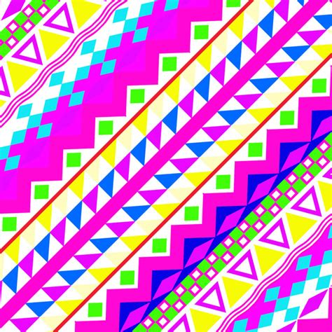 neon pattern wallpaper acidic neon neon pink teal bright girly abstract aztec