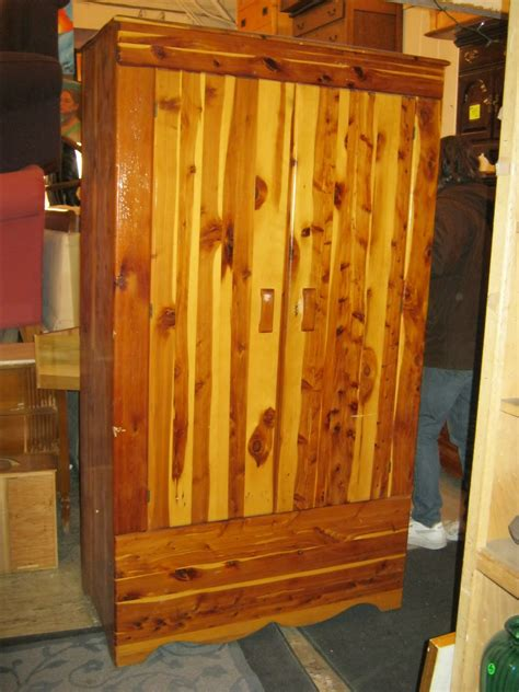 Cedar Wardrobe Closet by Uhuru Furniture Collectibles Solid Cedar Wardrobe Late