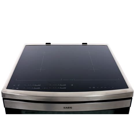 aeg electric induction oven buy aeg 49176iw mn induction electric cooker with oven stainless steel marks electrical