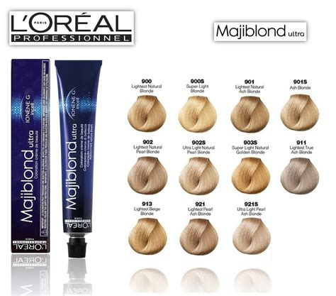 loreal hair color chart loreal majiblond ultra hi lift hair color chart