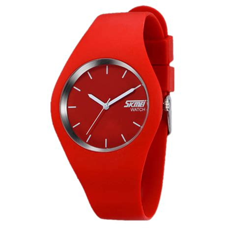 new womens sports watches mens silicone bracelet