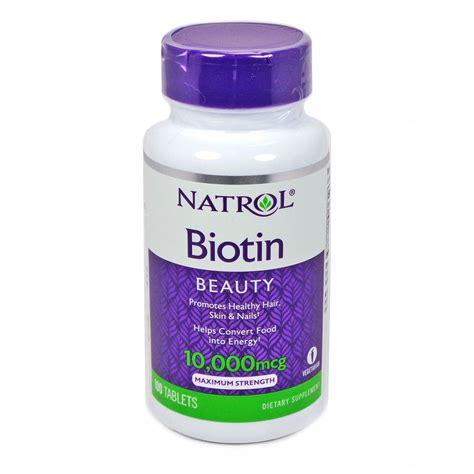 Promo Natrol Biotin Maximum Strength 10 000 Mcg 100 Tablets biotin 10 000 mcg by natrol 100 tablets maximum strength