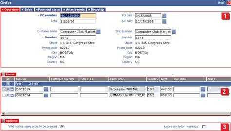sap sales order workflow filling the header of the sap sales order form legacy
