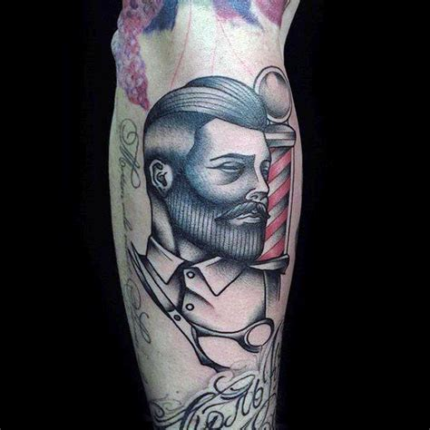 barber tattoo designs 100 barber tattoos for masculine design ideas