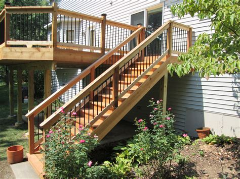 how to design stairs in a house deck stairs ideas how to choose the best stair design for your straight staircase