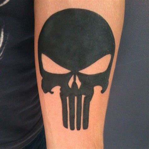 punisher tribal tattoo best 25 punisher ideas on