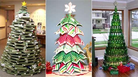 arboles de navidad de material reciclado youtube