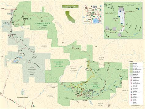 kenwood california map sugarloaf ridge state park map sugarloaf ridge state