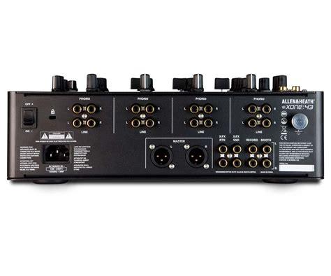 Mixer Allen Heath 4 Channel allen heath xone 43 4 channel analog dj mixer agiprodj