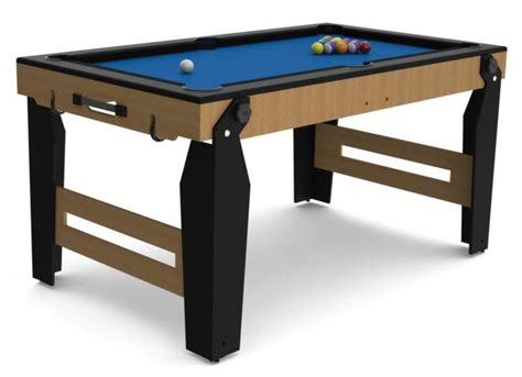 5ft Folding Pool Table 5ft Rolling Lay Flat Folding Pool Table Pool Tables