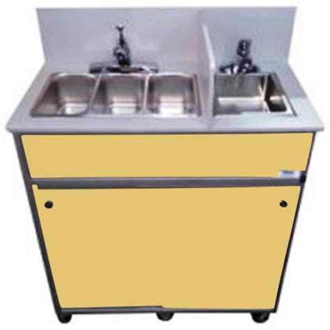 portable shoo sink no plumbing shop monsam brown basin stainless steel portable