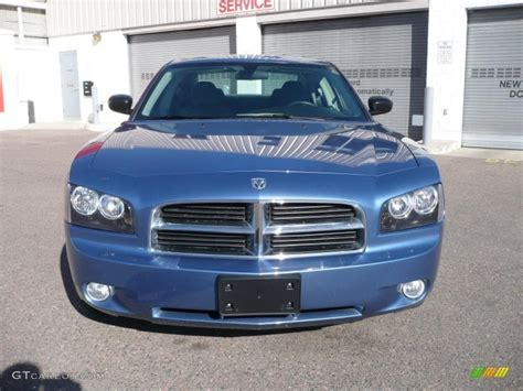 2007 dodge charger colors 2007 marine blue pearl dodge charger sxt 26996558 photo