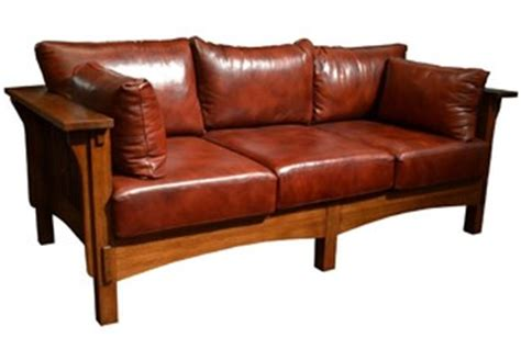 mission oak leather sofa mission crofter style oak and leather 3 seater sofa