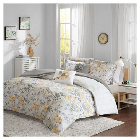 floral bedding target georgina floral comforter set target