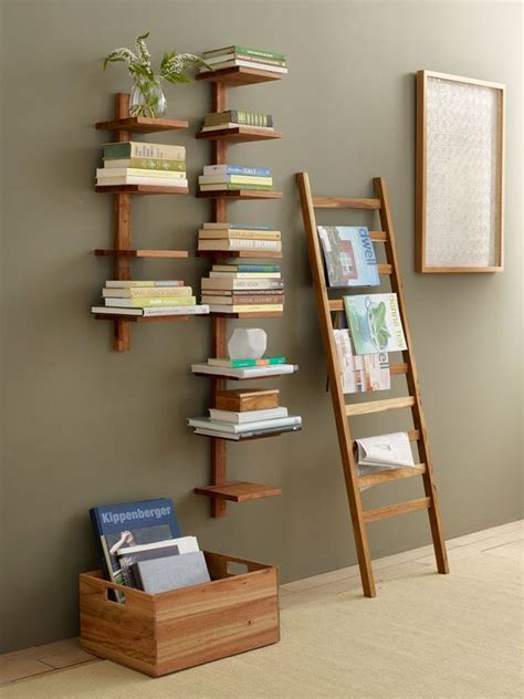 interesting bookshelves   catch  attention