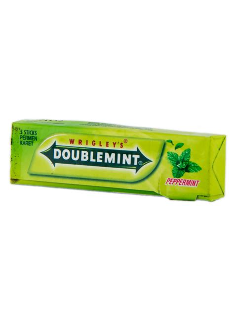 Wrigleys Permen Karet Wrigley S Gum Doublemint Peppermint Btg 13 5g