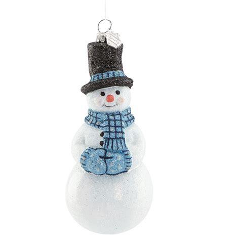 ornaments snowman snowflurries snowman ornament 2016 ornament by
