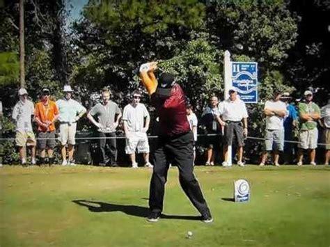 ernie els golf swing slow motion ernie els driver 3000 fps slow motion superg swing