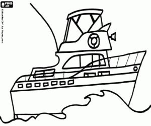 boats coloring pages printable games
