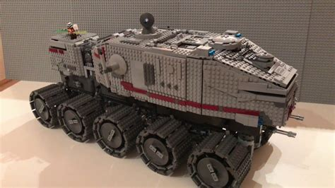 Custom Wars 2 lego wars custom ucs clone turbo tank juggernaut in