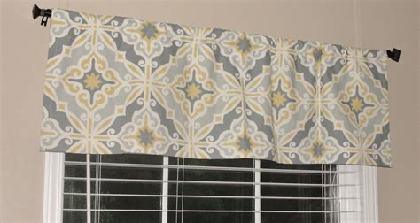 White And Silver Valance Grey And White Valance