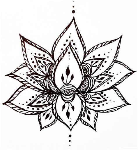 free lotus drawing download free clip art free clip art