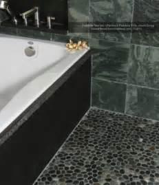 islandstone pebble series pebble tile java grey