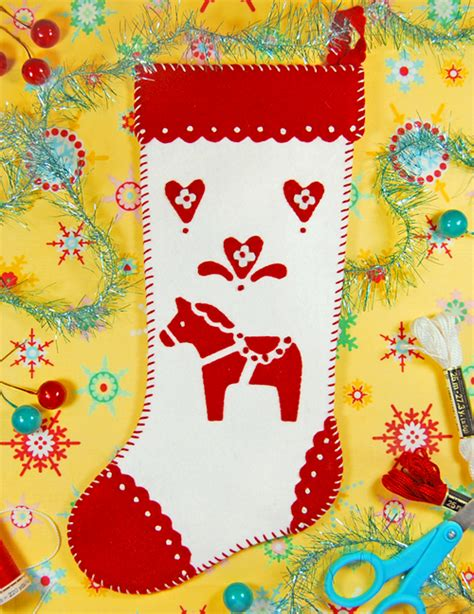 pattern for felt christmas stocking free felt patterns and tutorials free felt pattern